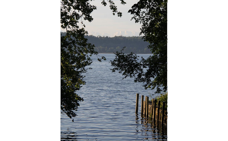 Lac de Bienne Erlach les rêveries